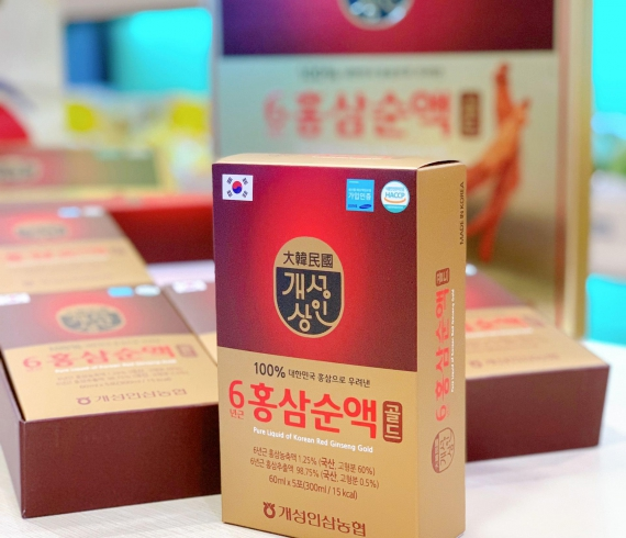 Nước Hồng Sâm Pure Liquid Of Korean Red Ginseng Gold (60ml x 5gói)