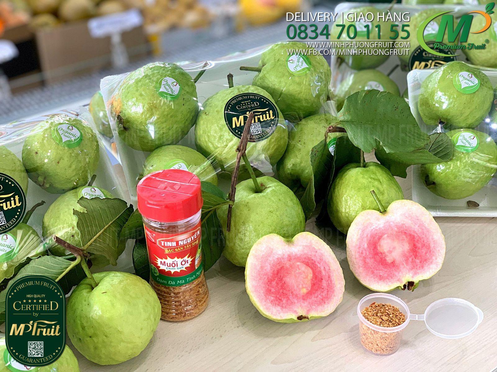 Ổi Hồng Ruby tại MP Fruits