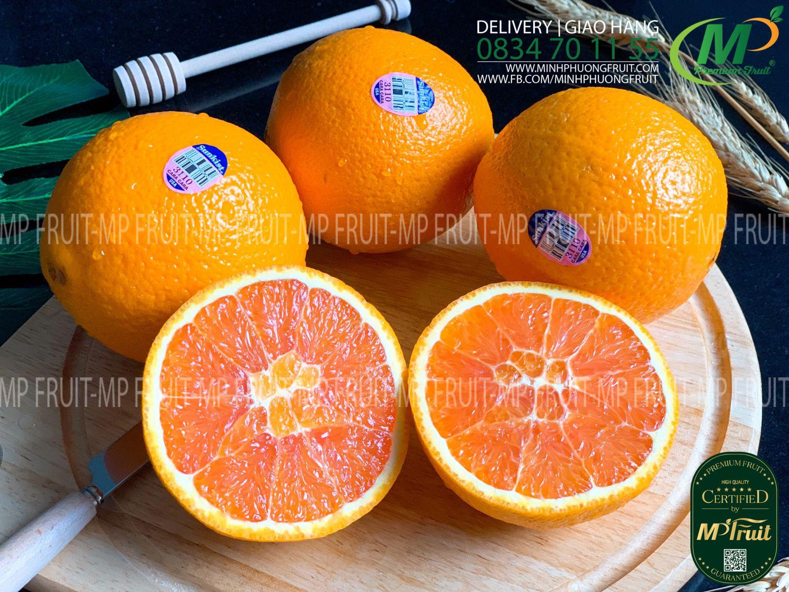 Cam Đỏ Cara Sunkist Mỹ tại MP Fruit