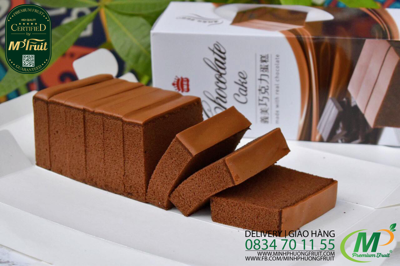 Bánh Bông Lan Sô Cô La Tươi Imei Chocolate Cake Đài Loan tại MP Fruit