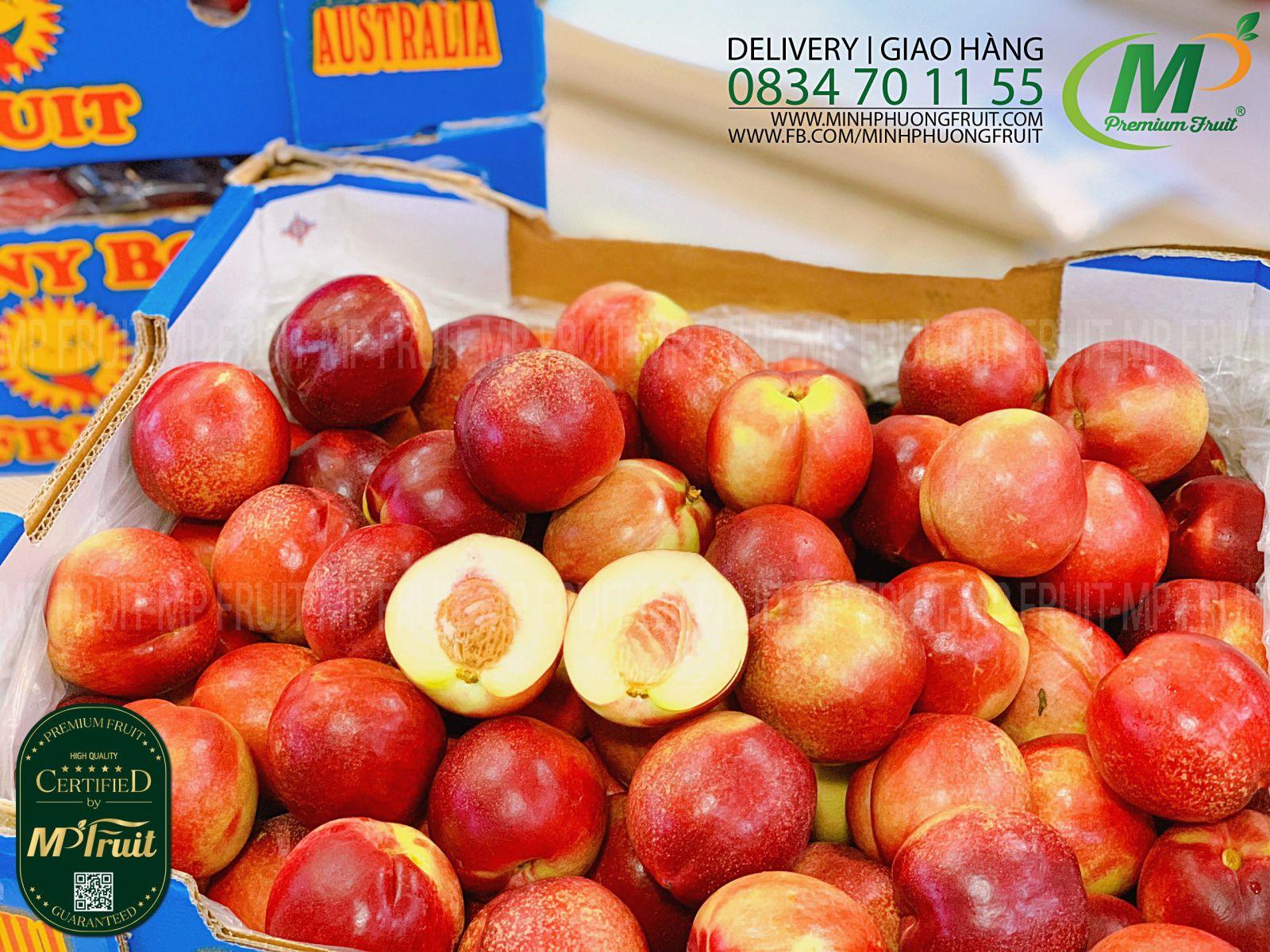 Quả Xuân Đào Úc tại MP Fruits