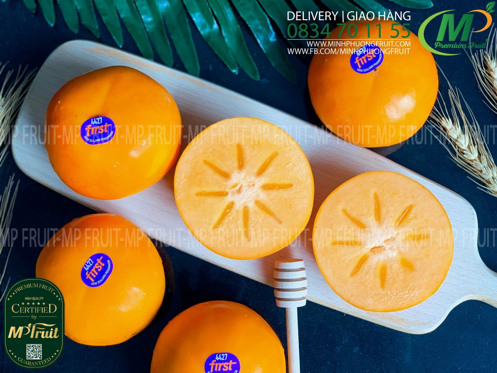 Hồng Giòn New Zealand tại MP Fruits