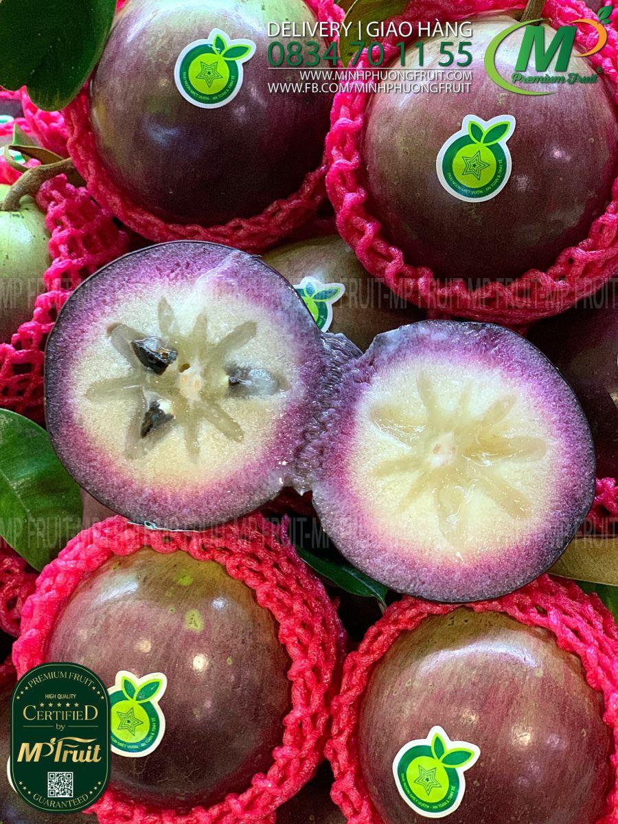 Vú Sữa Tím Lò Rèn Vĩnh Kim tại MP Fruits