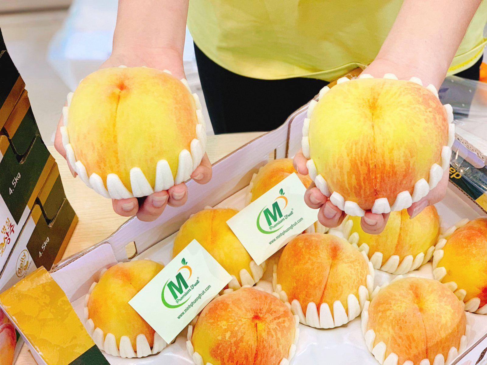 Đào Lông Ruột Vàng Hàn Quốc - MP Fruit