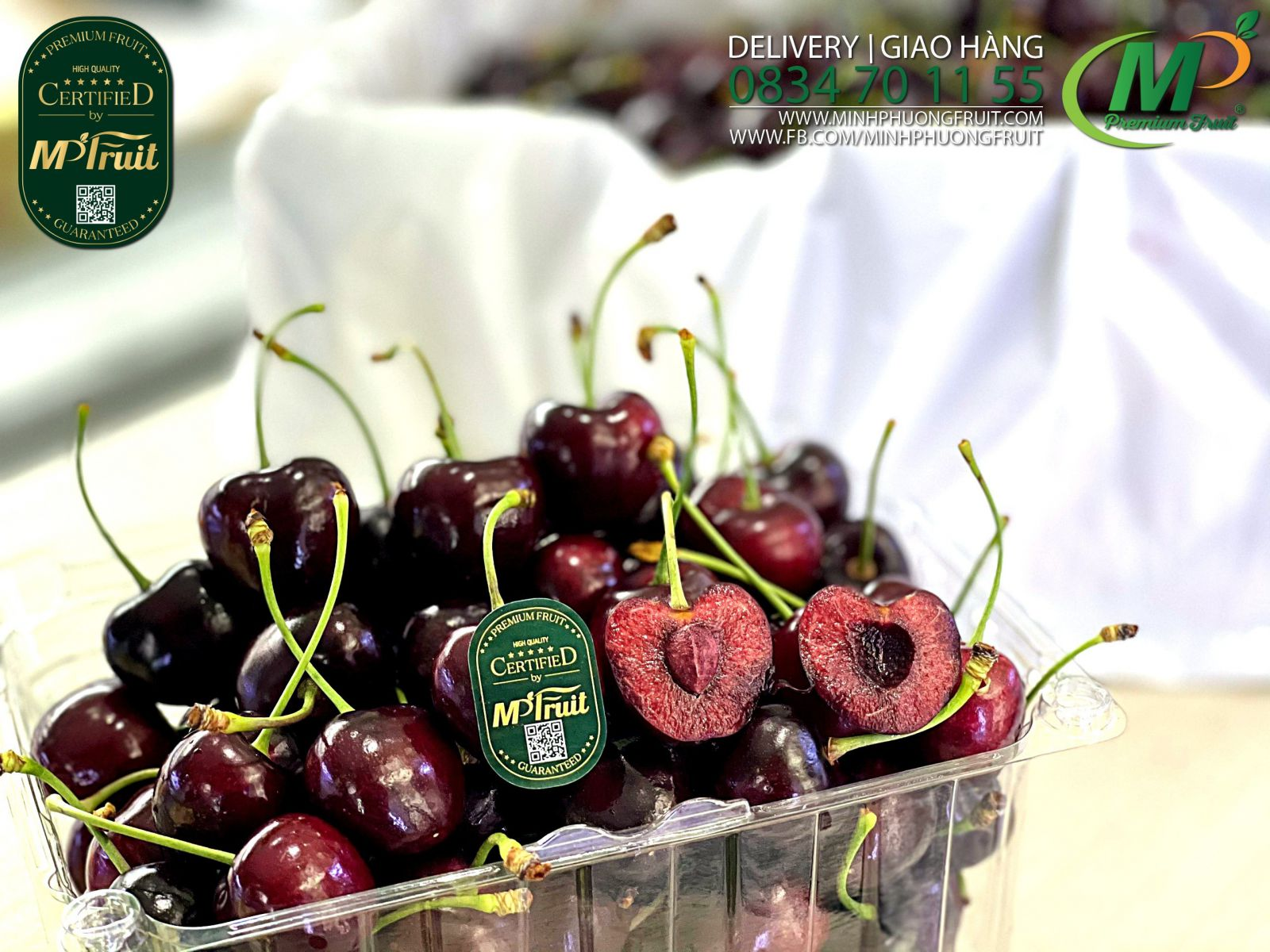 Cherry New Zealand tại MP fruit