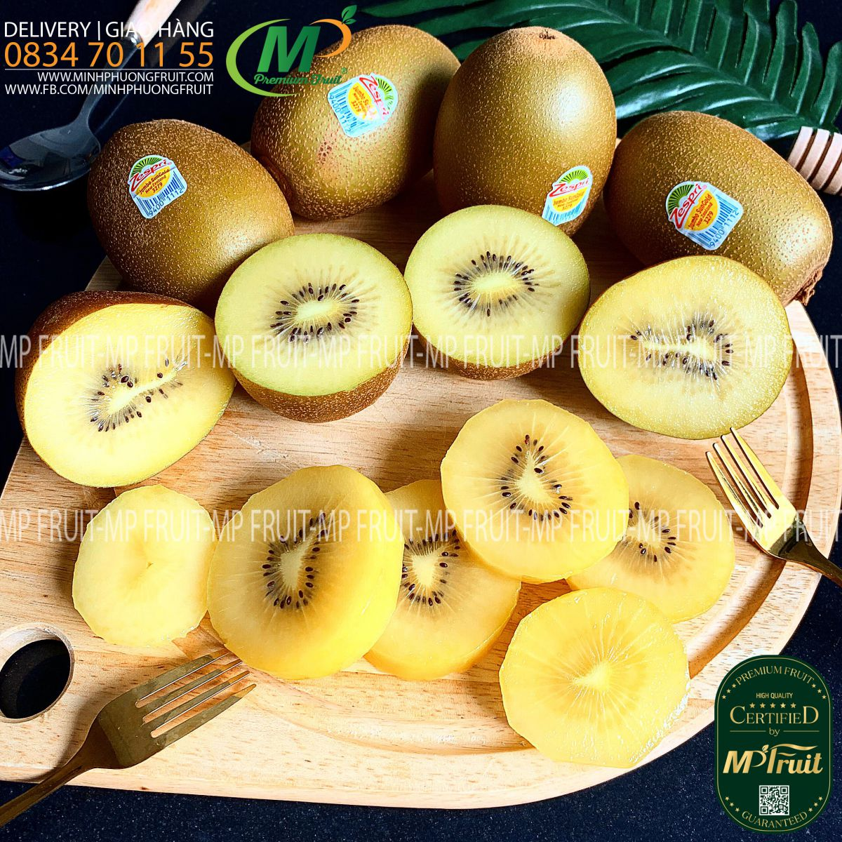Kiwi Vàng Zespri Jumbo Sungold New Zealand tại MP Fruit