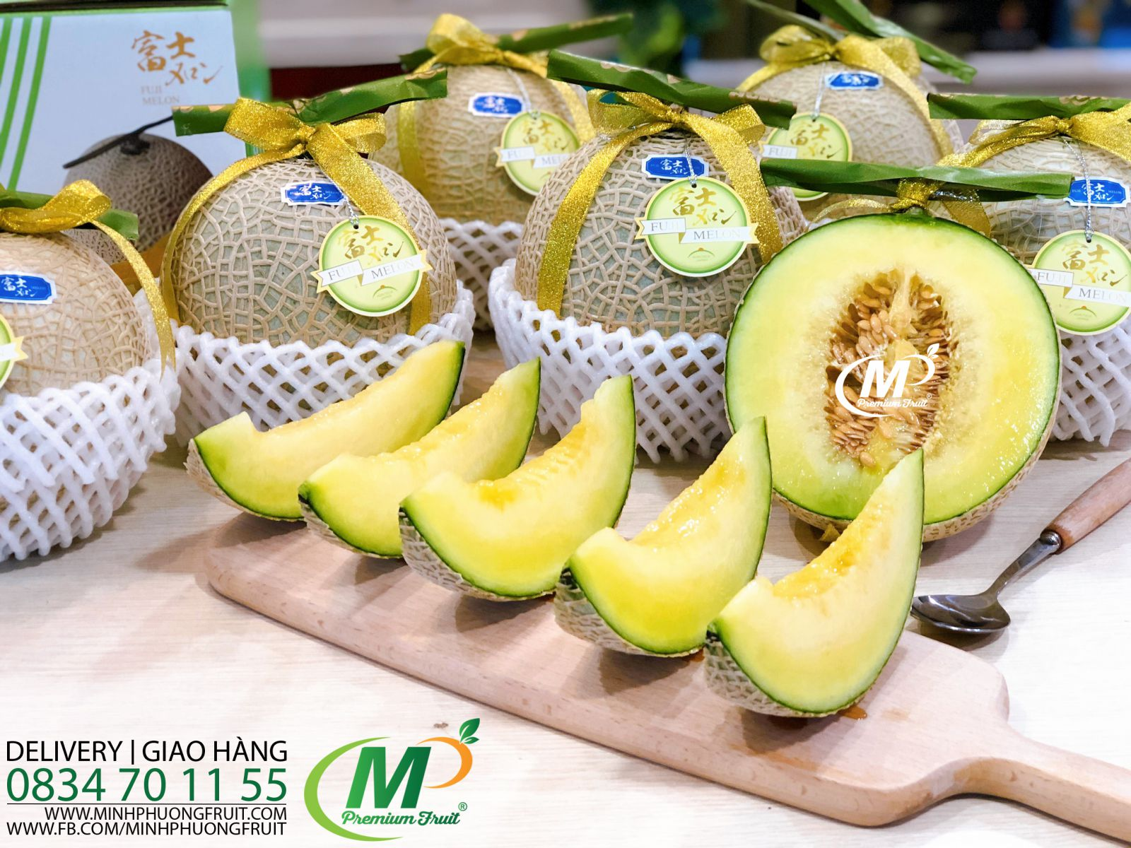 Dưa Lưới Nhật Fuji Melon - MP Fruit