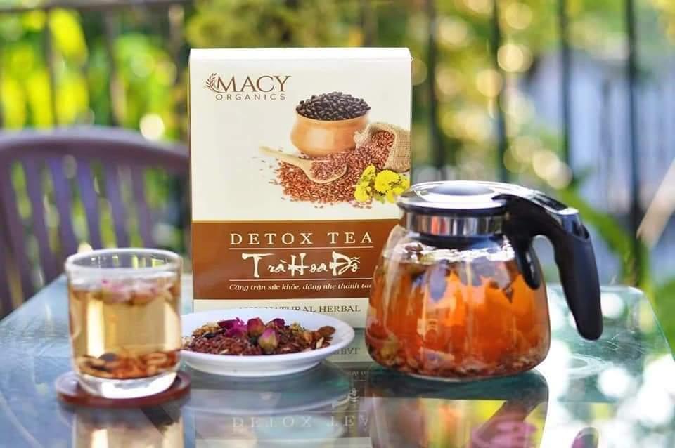 Detox Tea Trà Hoa Đỗ - MP Fruit