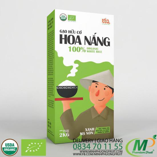 Gạo Hữu Cơ Hoa Nắng - Xanh Mạ Non - MP Fruit