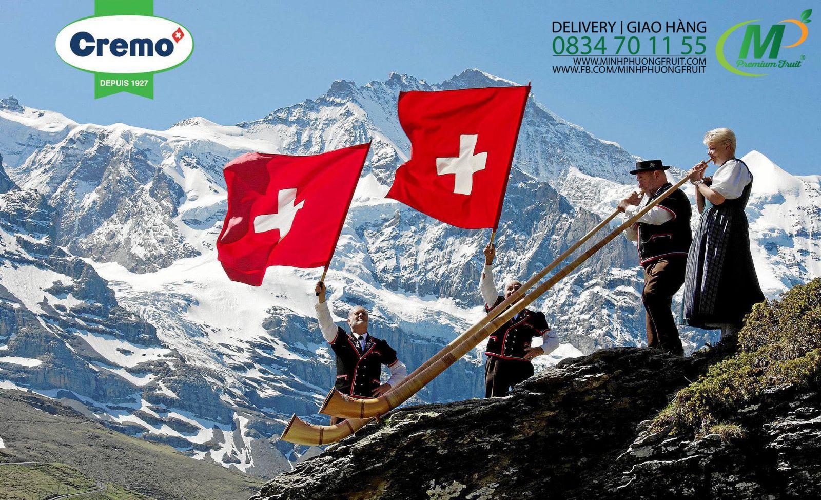 Sữa Tươi Tiệt Trùng Cremo Dairy Thụy Sĩ - MP Fruit