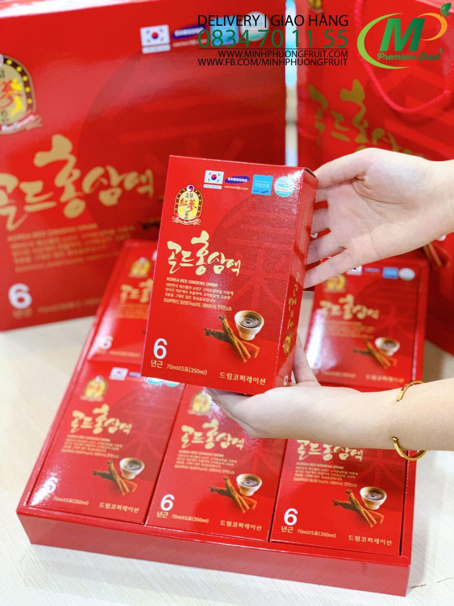 Nước Hồng Sâm 6 Năm Tuổi Hàn Quốc - MP Fruit