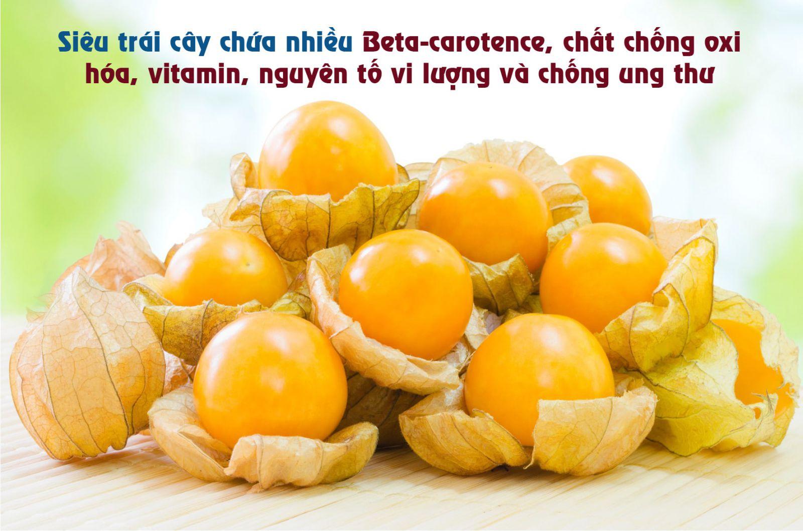 Trái Tầm Bóp Nam Mỹ được coi là Siêu Trái Cây chống được Ung Thư - MP Fruits