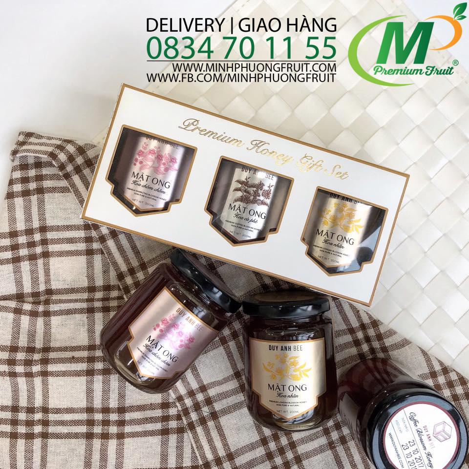 Set quà tặng 3 hủ Mật Ong Duy Anh Bee