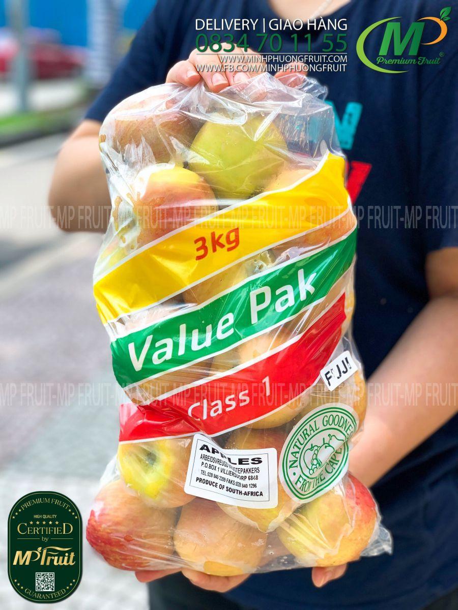 Táo Fuji Mini Nam Phi Túi 3kg   Value Pak tại MP Fruits