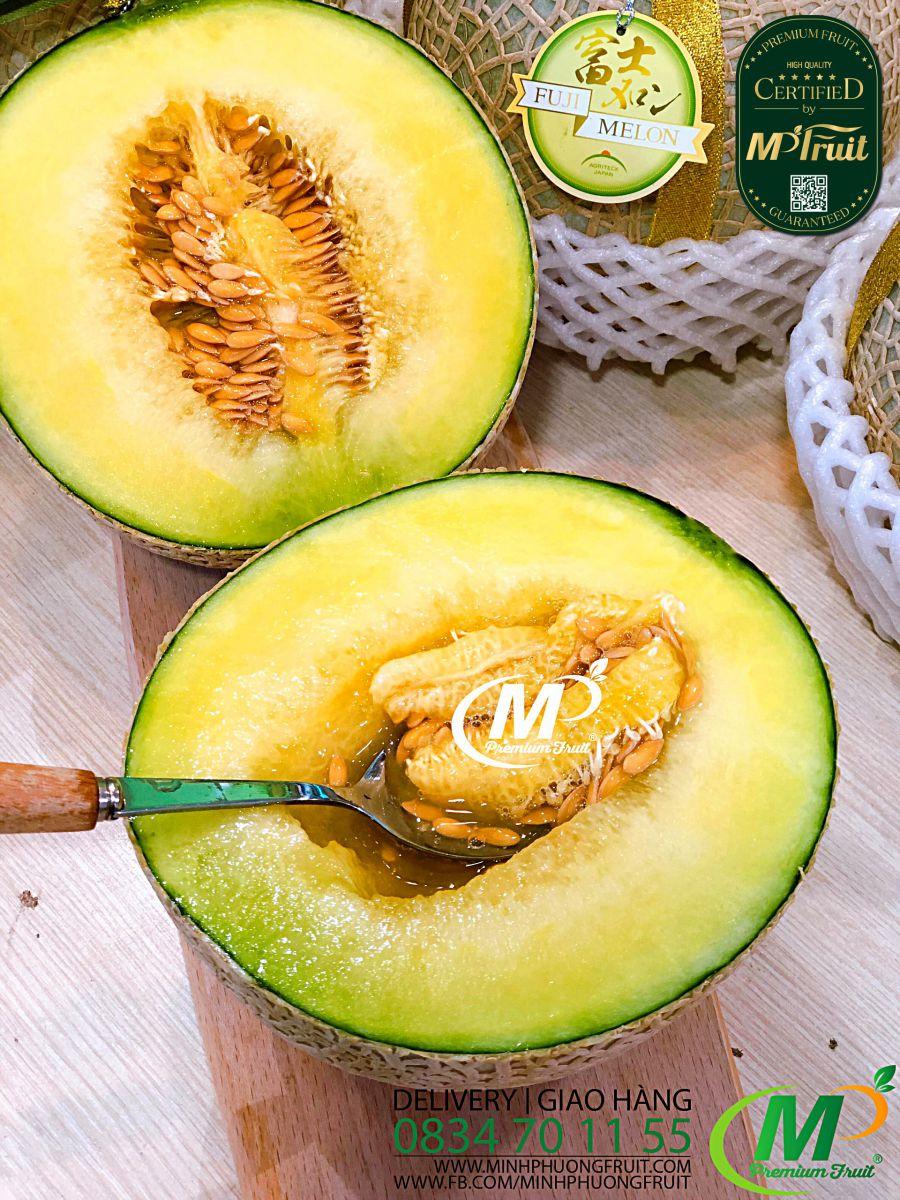 Dưa Lưới Nhật Fuji Melon tại MP Fruit