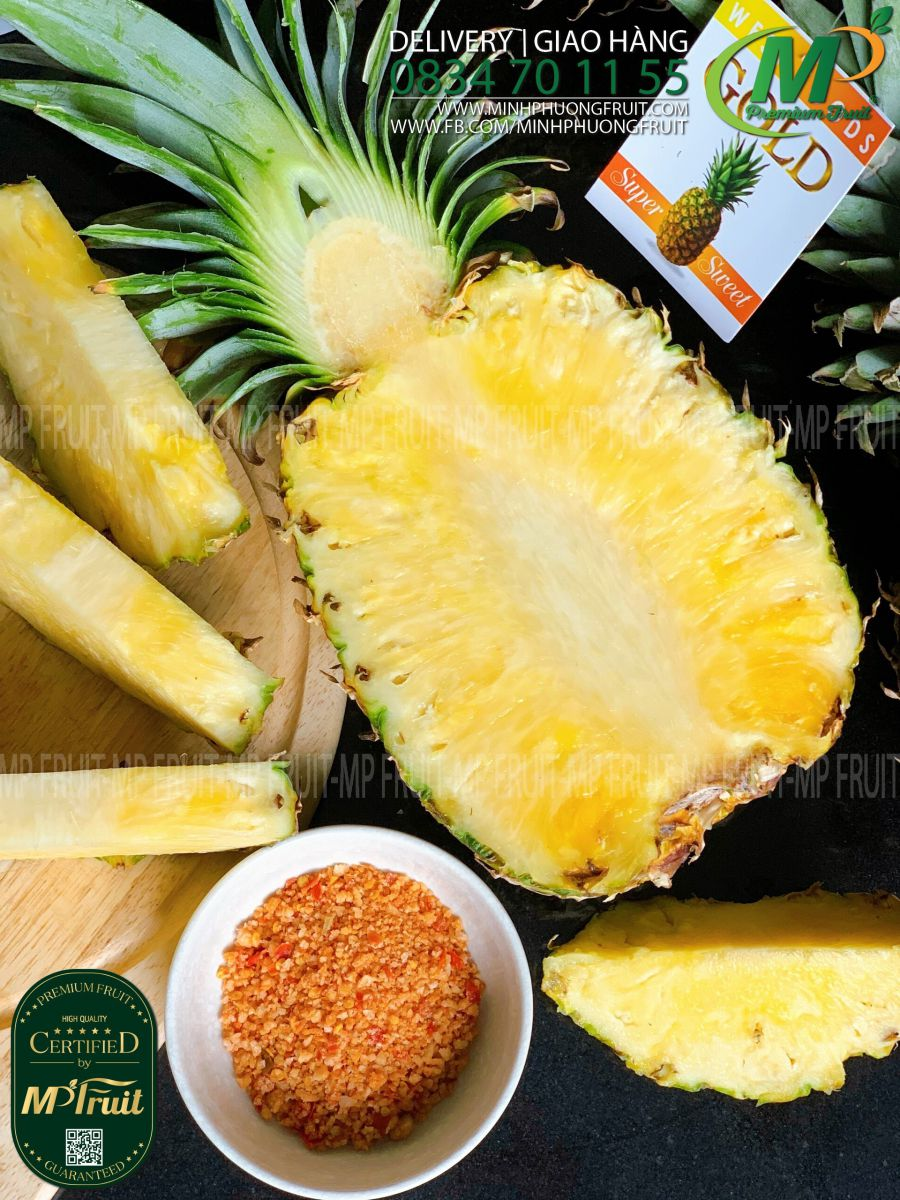 Dứa Mật MD2 West Food tại MP Fruits