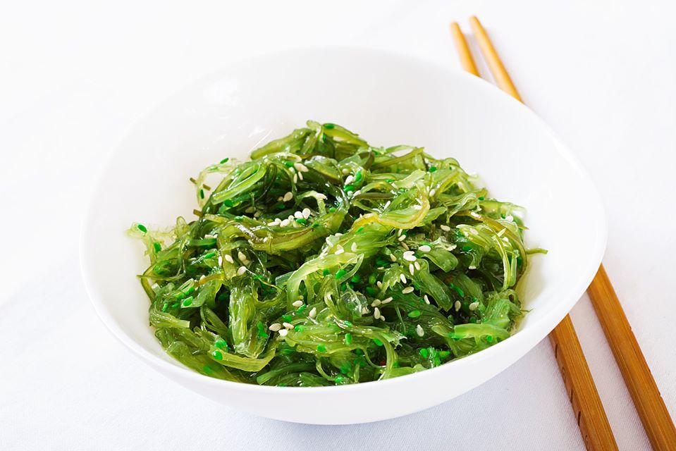 Salad Rong Biển Tươi Trộn Mè Cao Cấp Hàn Quốc tại MP Fruit