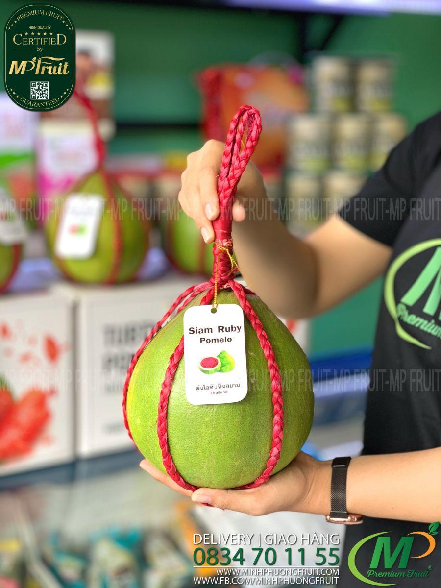 Bưởi Đỏ Ruby Thái Lan tại MP Fruits