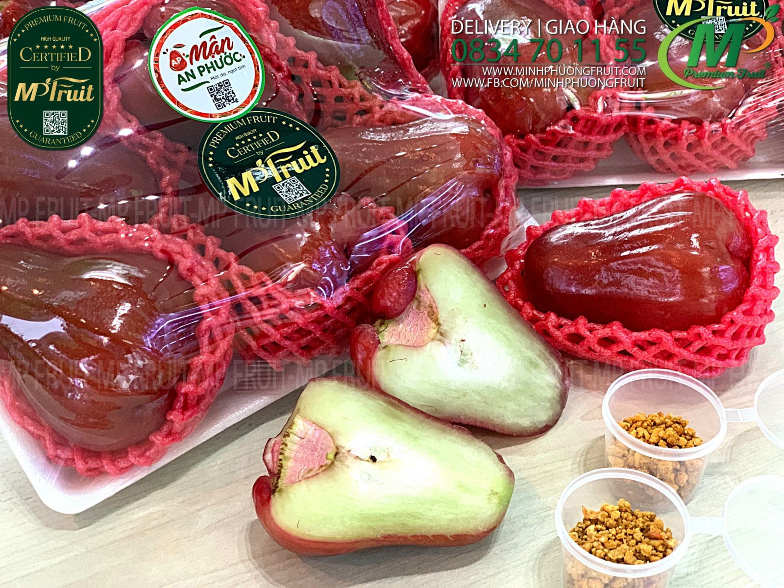 Mận Đỏ An Phước tại MP Fruits