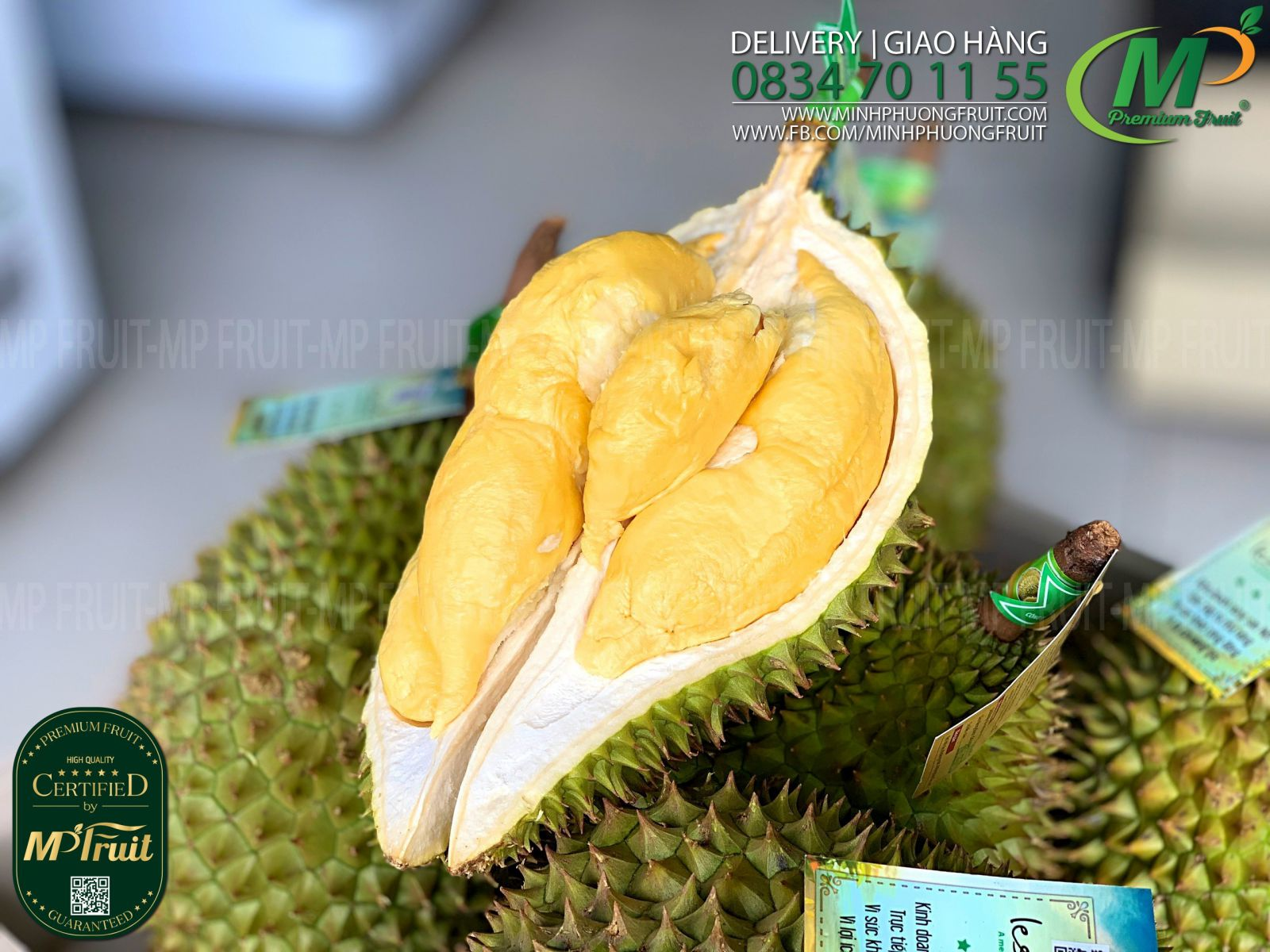 Sầu Riêng Ri6 Huỳnh Lâm tại MP Fruits