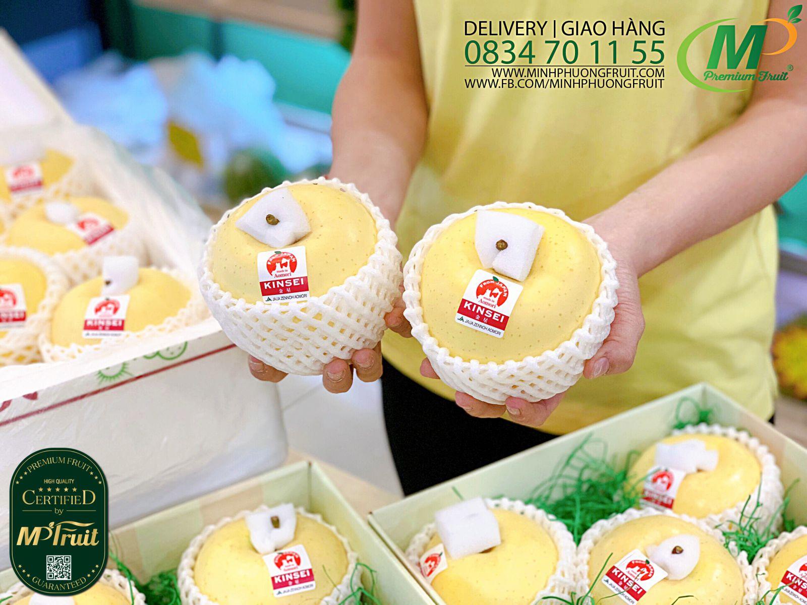 Táo Vàng Kinsei Nhật Bản tại MP Fruits