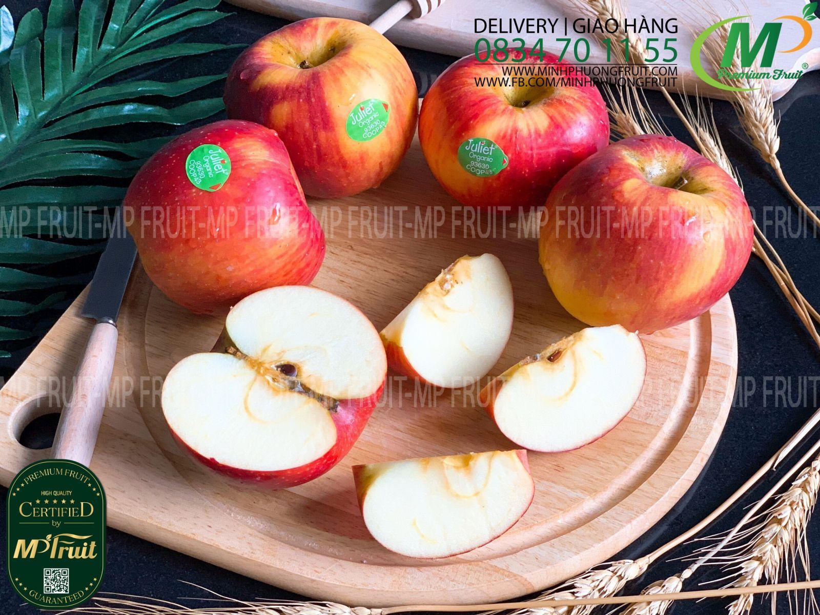 Táo Juliet Organic Pháp tại MP Fruits