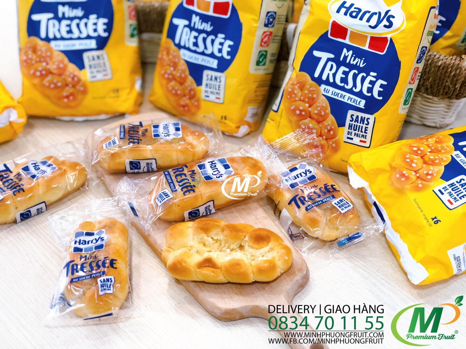 Bánh Mì Hoa Cúc Pháp - Harrys Brioche Tressée 210g