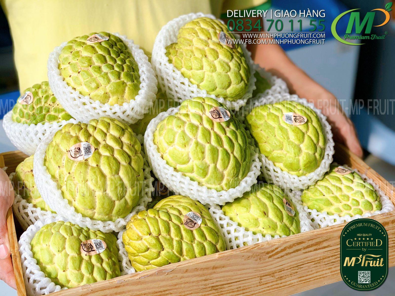 Na Dai Hoàng Hậu Thái Lan tại MP Fruits