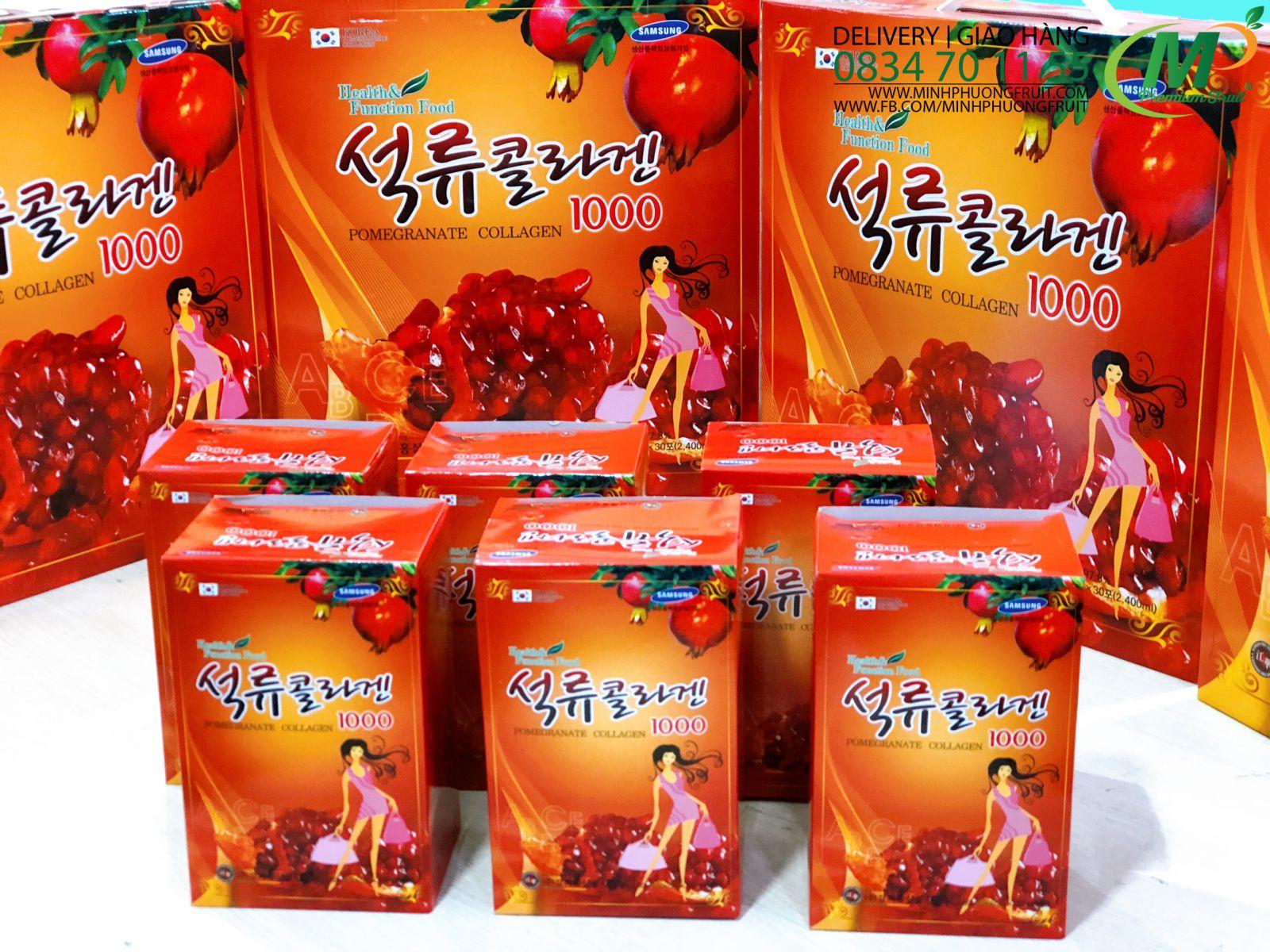 Nước Lựu Collagen Hàn Quốc - MP Fruit