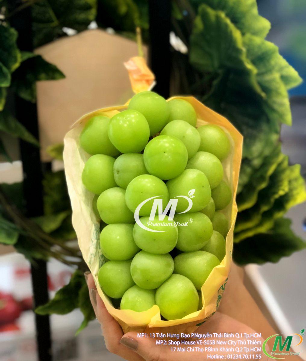 Nho shine muscat Nhật Bản tại MP Fruit