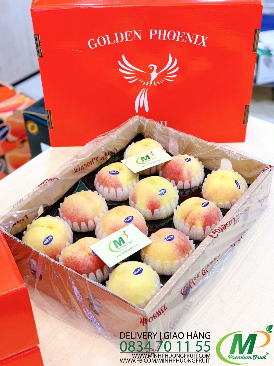 Đào Lông Ruột Trắng Hàn Quốc - MP Fruit