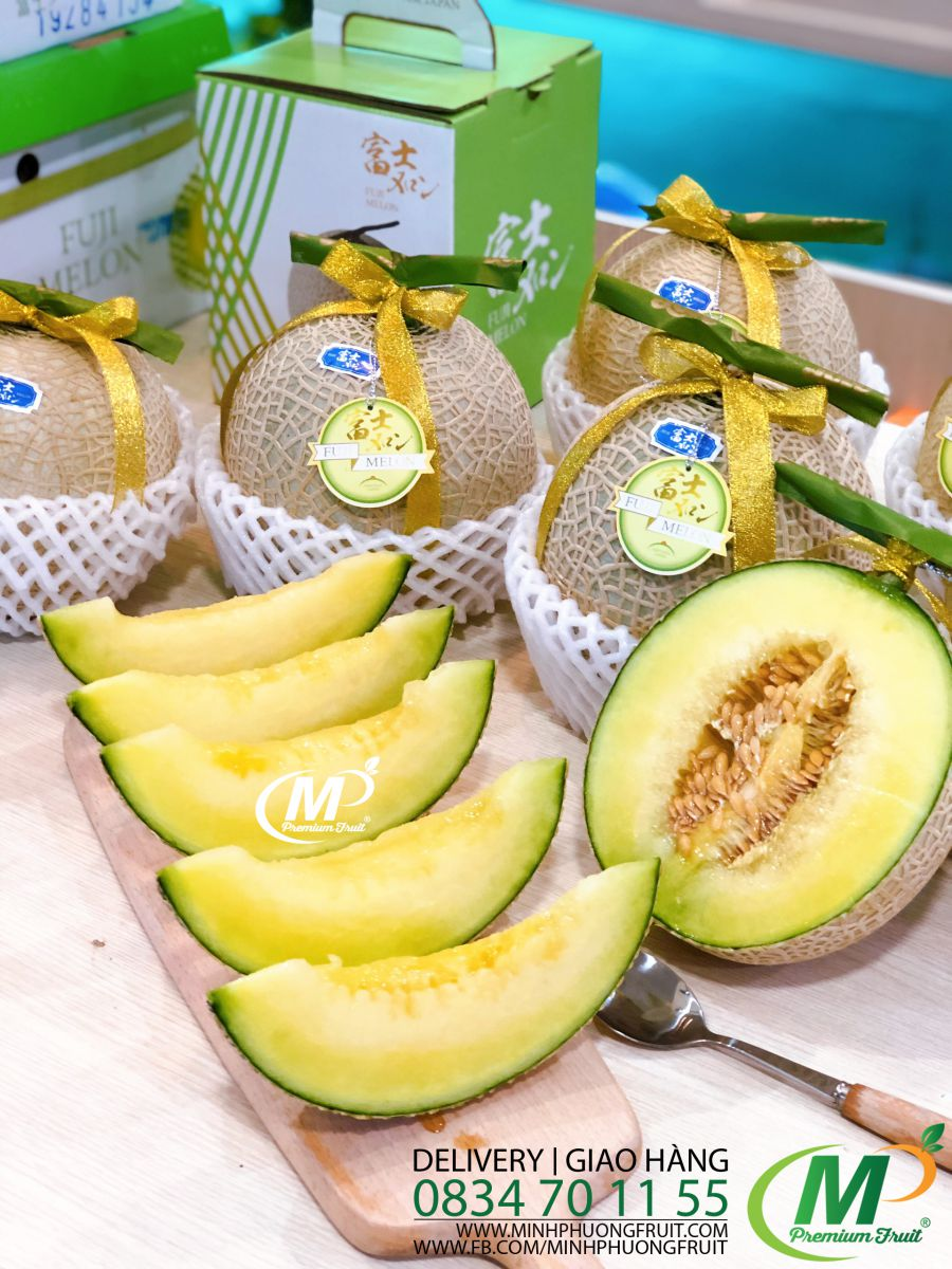 Dưa Lưới Nhậ Fuji Melon - MP Fruit