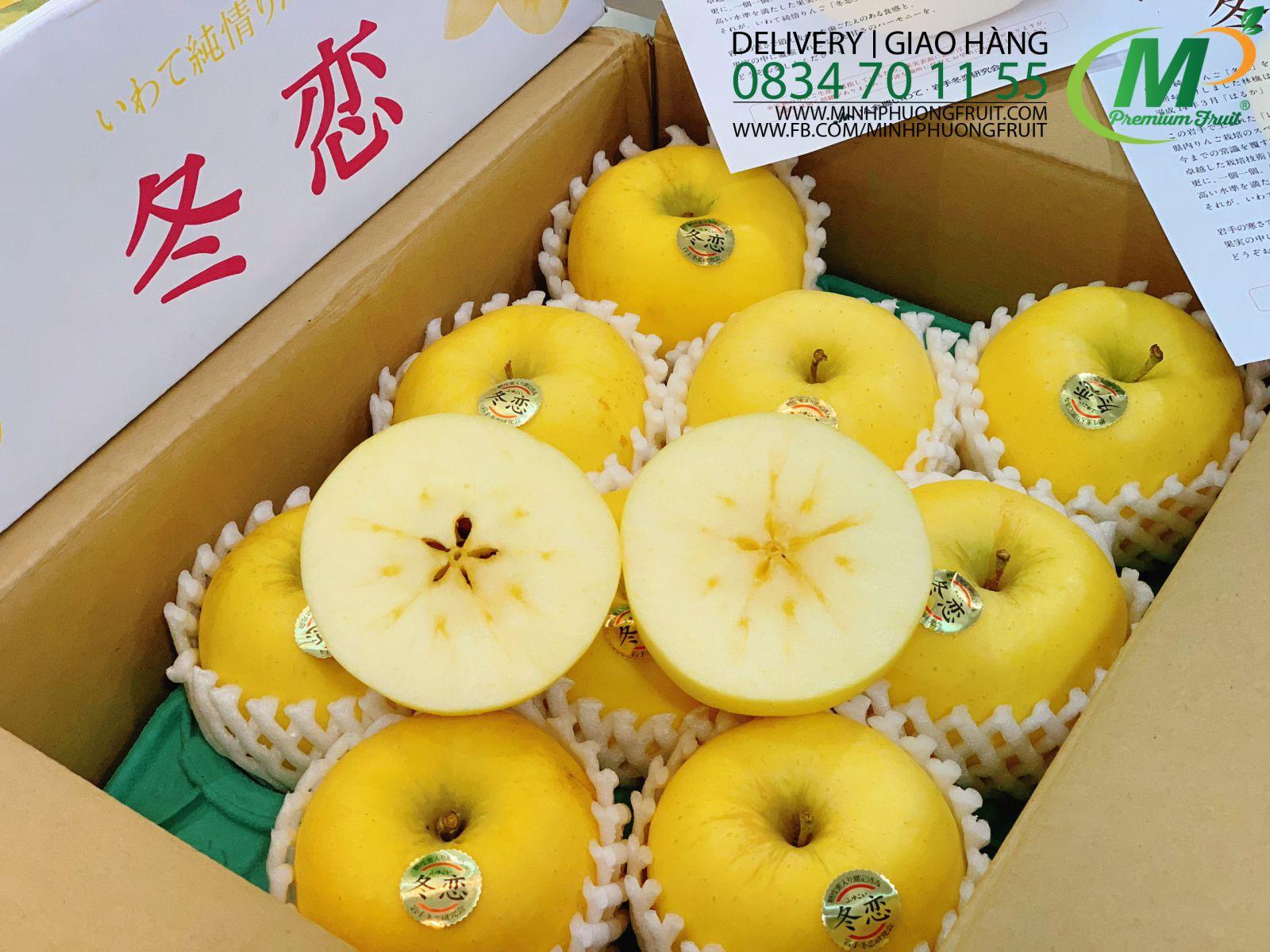 Táo Mật Vàng IWATE JUNJO Nhật Bản MP Fruit