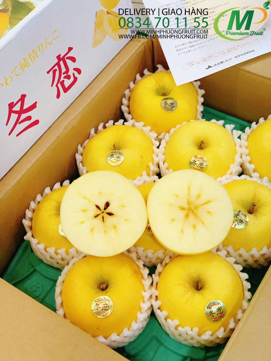 Táo Mật Vàng Iwate Junjo Nhật Bản tại MP Fruit