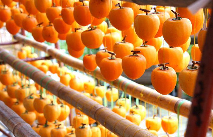 Cách phơi sấy hồng dẻo một nắng của người Hàn Quốc - MP Fruits