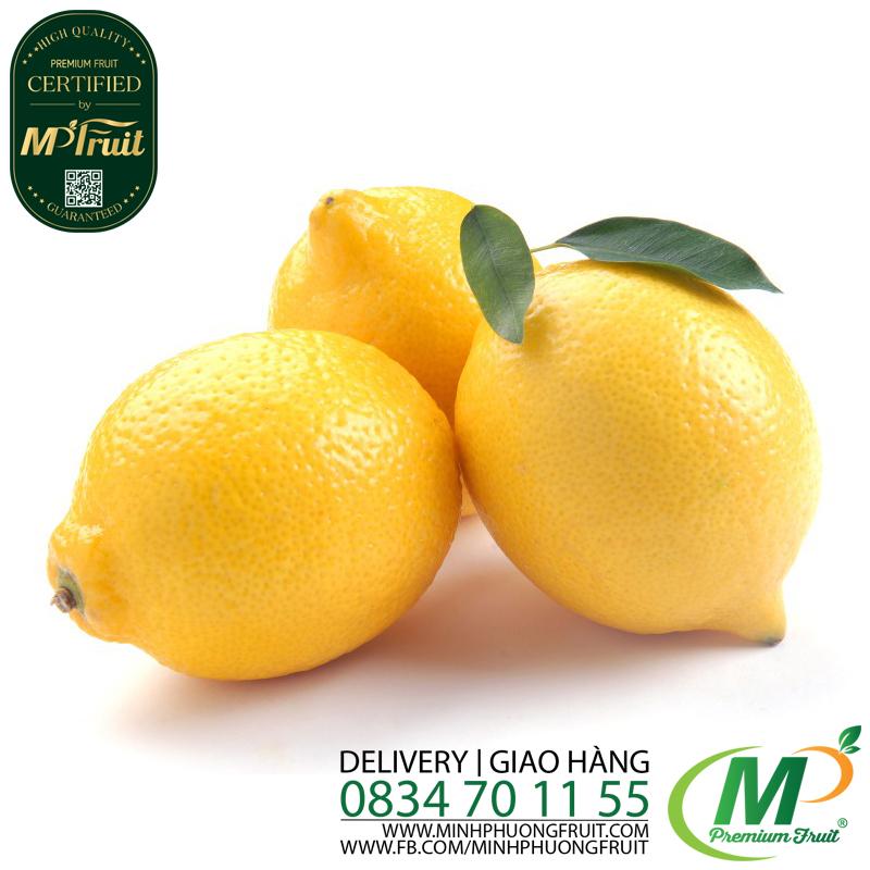Quả Chanh Vàng Nam Phi tại MP Fruits