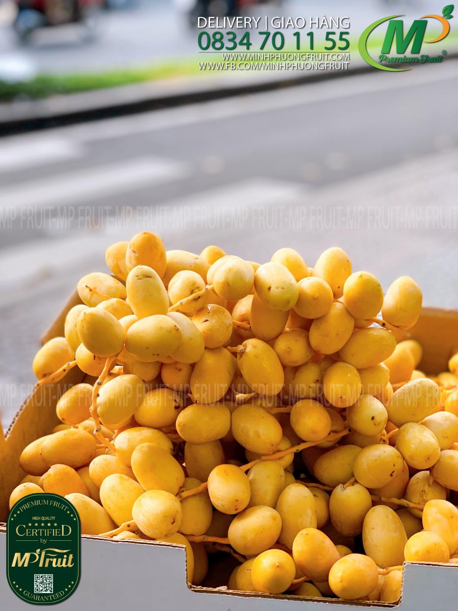 Chà Là Tươi Thái Lan tại MP Fruits