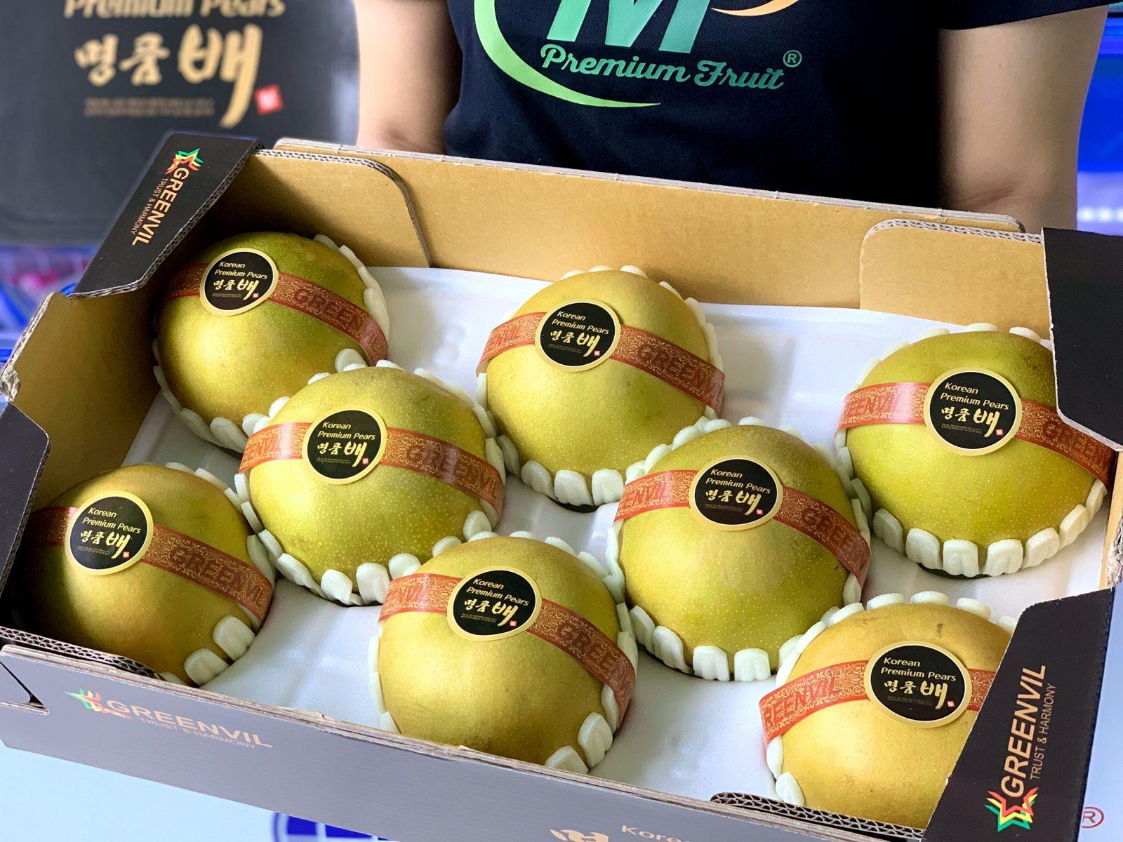 Lê Nâu Xanh Moonpong Hàn Quốc tại MP Fruits