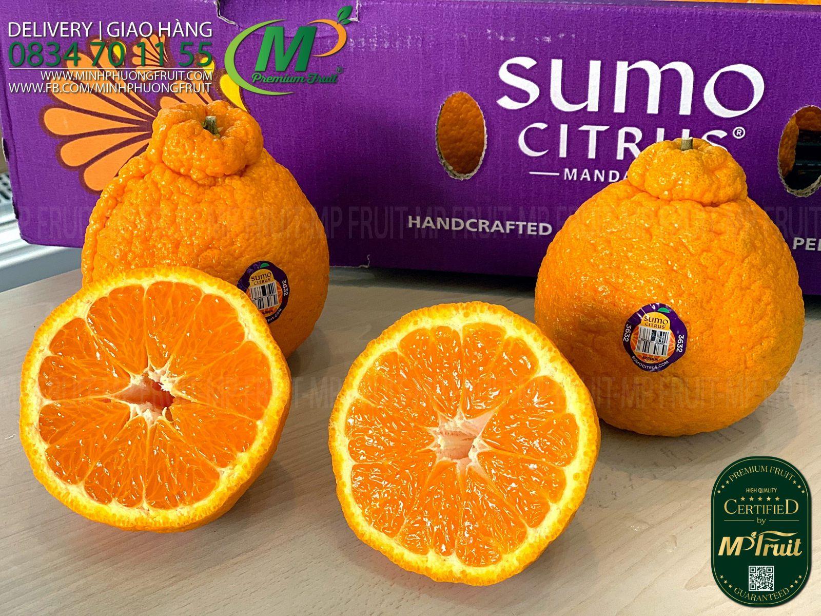 Quýt Sumo Úc tại MP Fruits