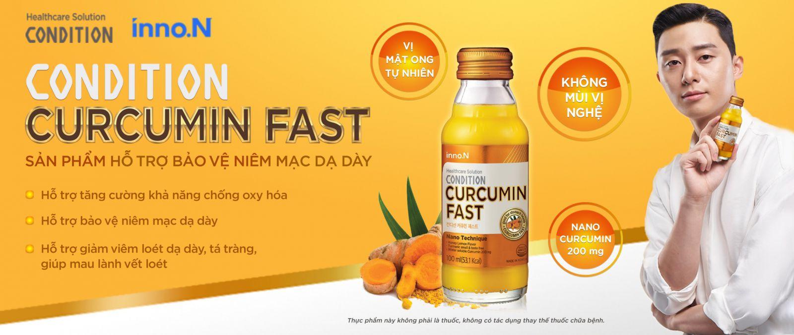 Nước Tinh Nghệ Nano Condition Curcumin Fast Hàn Quốc tạo MP Fruits