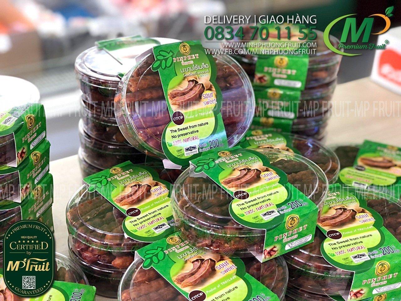 Me Thái Tách Hạt Hộp 200g tại MP Fruits
