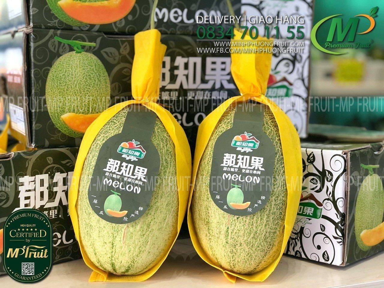 Dưa Lưới Đài Loan tại MP Fruits