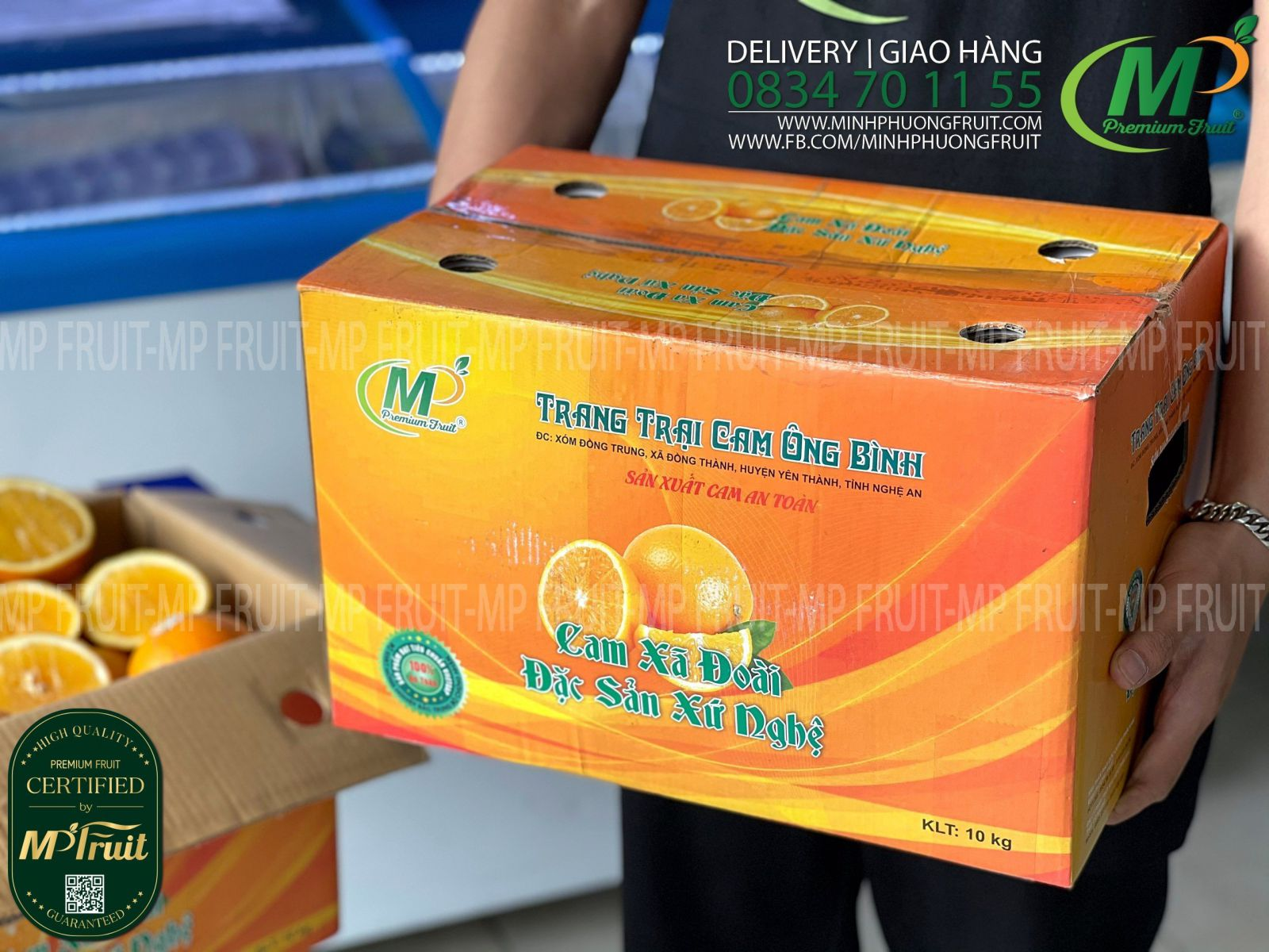 Cam Xã Đoài Nghệ An Trang Trại Ông Bình tại MP Fruits