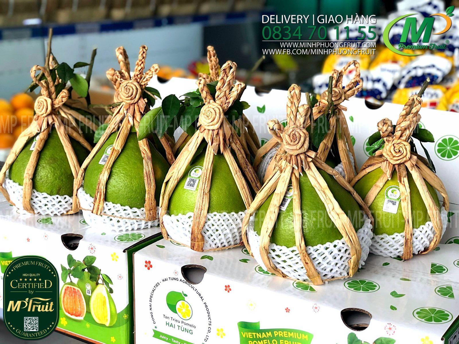 Bưởi Đường Lá Cam Hai Tùng Tân Triều tại MP Fruits