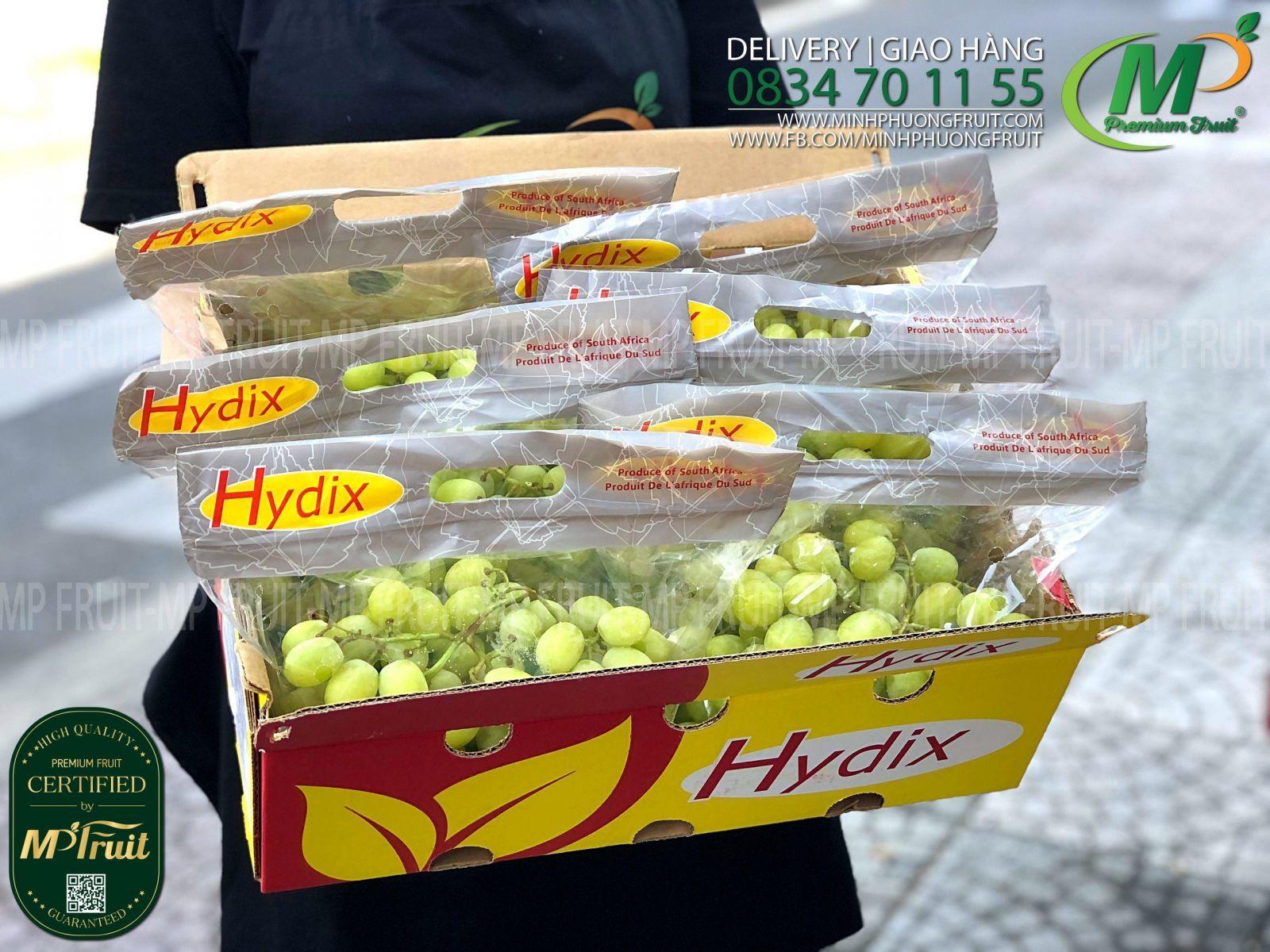 Nho Xanh Autumn Crisp Nam Phi   Hydrix tại MP Fruits