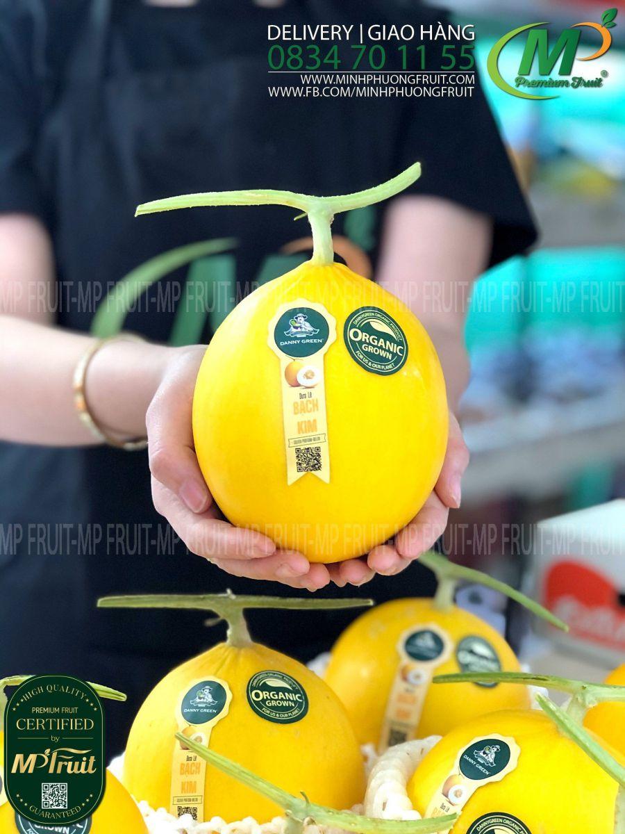 Dưa Lê Bạch Kim Organic Danny Green tại MP Fruit