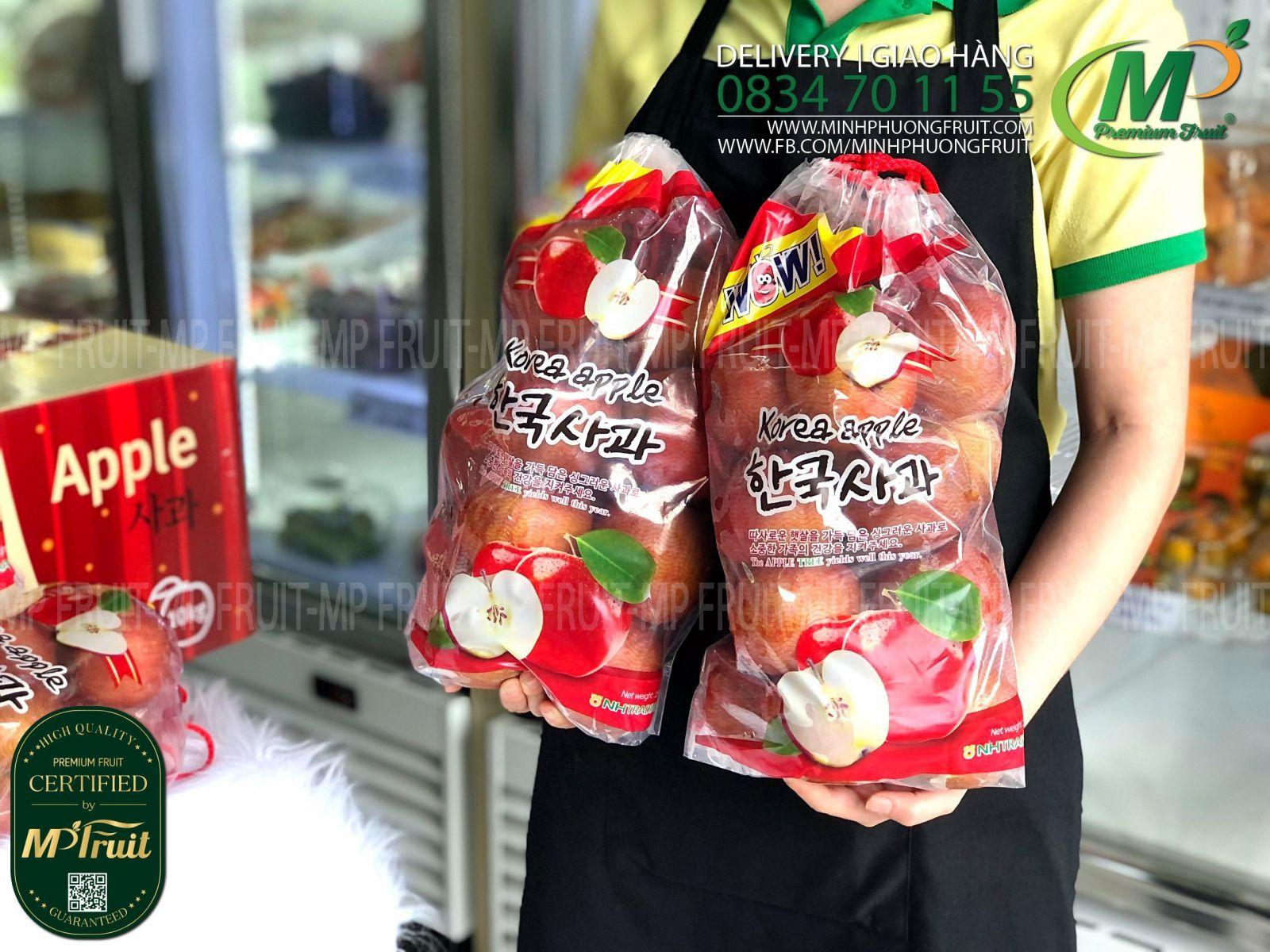 Táo Fuji Mini Nam Phi Túi 2,5 kg tại MP Fruits