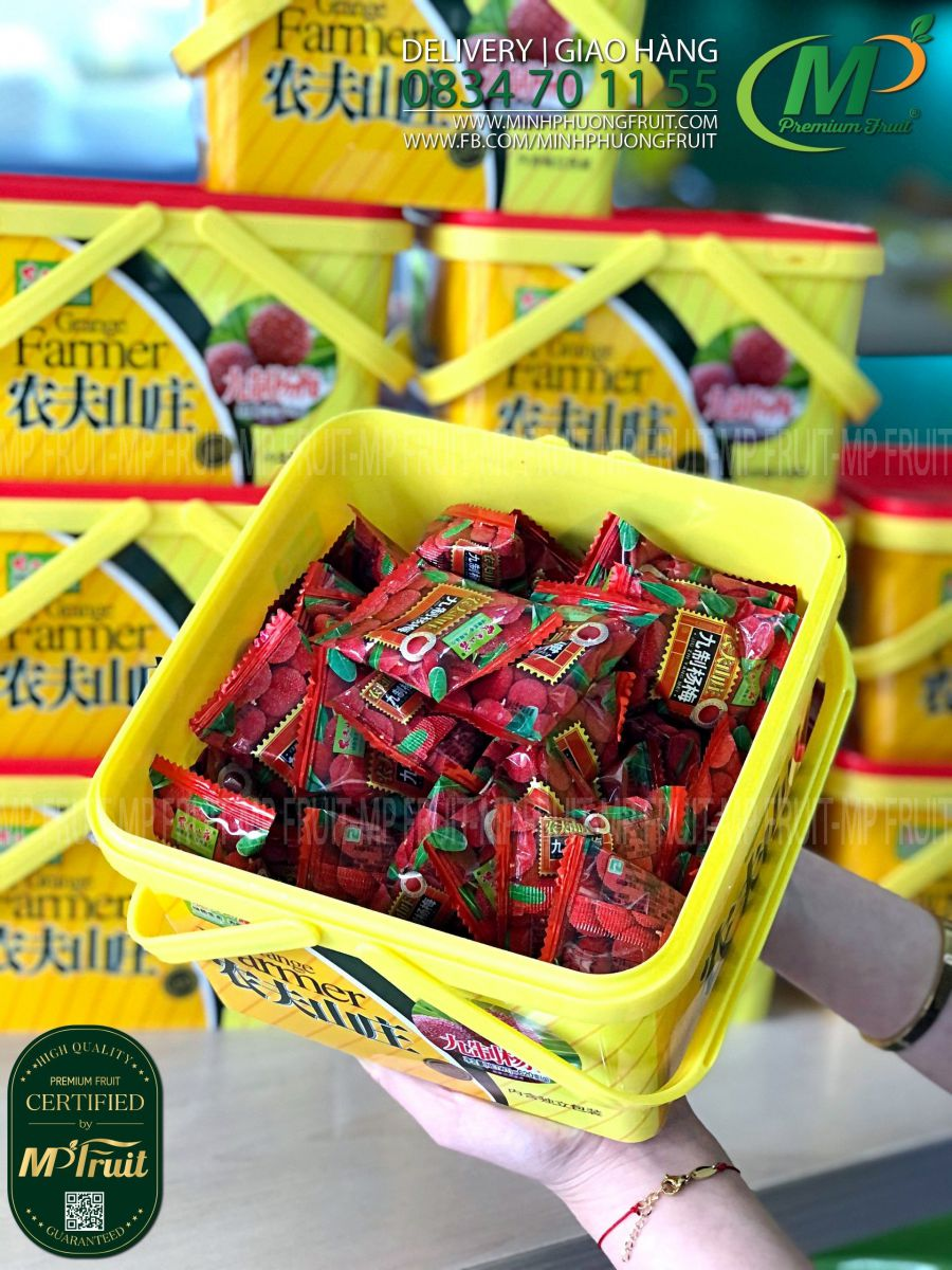 Ô Mai Thanh Mai Grange Farmer Đài Loan Hộp 620g tại MP Fruits