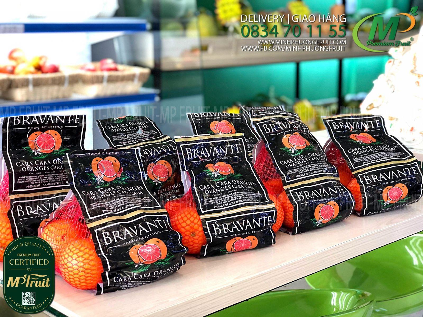 Cam Đỏ Cara Bravante Mỹ tại MP Fruit