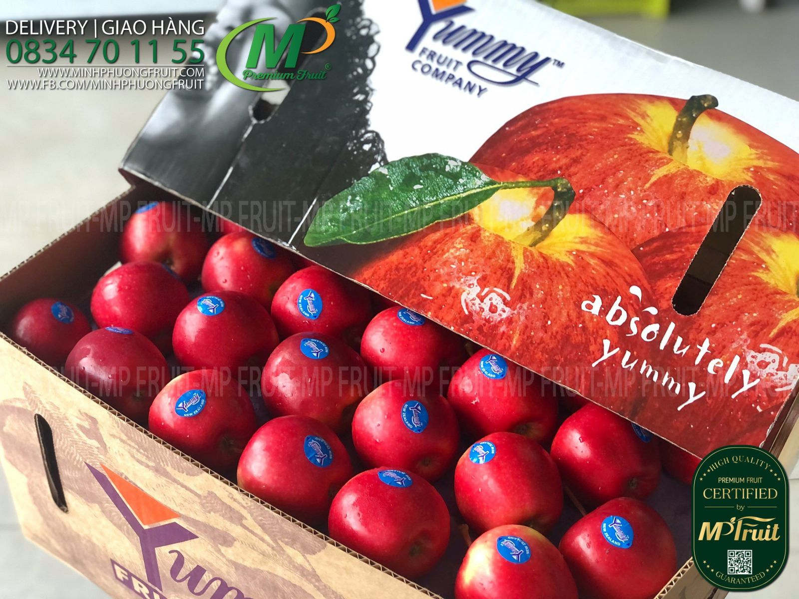 Táo Queen New Zealand | Yummy™ tại MP Fruit